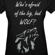 Design ~ Big, Bad Wolf Women's Standard Weight Shirt