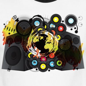 Earth_Music - Men's Ringer T-Shirt