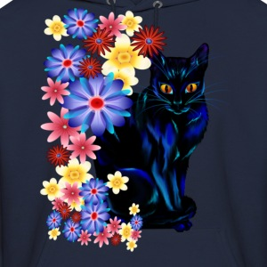 Black Garden Kitty - Men's Hoodie