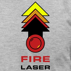 Fire Laser T-Shirts - Men's T-Shirt by American Apparel