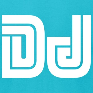 DJ - Men's T-Shirt by American Apparel