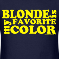 Design ~ Blonde is my favorite color