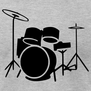 Drums - Men's T-Shirt by American Apparel