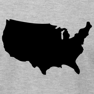 america - Men's T-Shirt by American Apparel