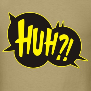 HUH Cartoon Comic T-Shirts - Men's T-Shirt