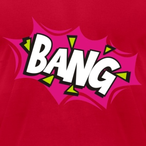Bang Comic Cartoon T-Shirts - Men's T-Shirt by American Apparel
