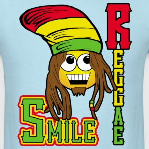 Reggae smile - Men's T-Shirt