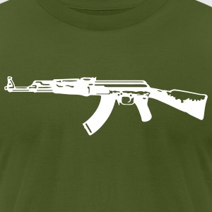 AK-47 T-Shirts - Men's T-Shirt by American Apparel