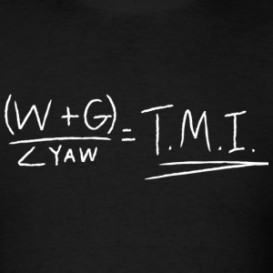 TMI Equation - Men's T-Shirt