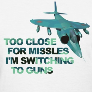 Close Missles Top Gun  Women's T-Shirts - Women's T-Shirt