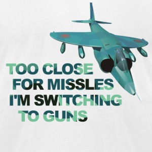 Close Missles Top Gun  T-Shirts - Men's T-Shirt by American Apparel