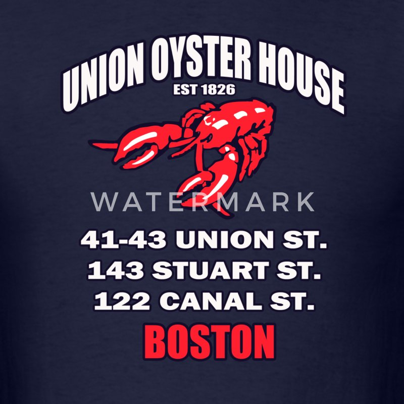 Union Oyster House - Men's T-Shirt