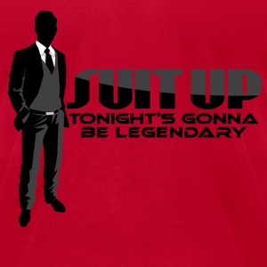 Suit Up Barney Met Mother T-Shirts - Men's T-Shirt by American Apparel
