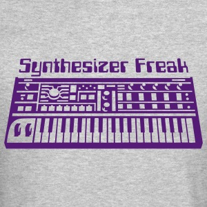 Synthesizer freak Long Sleeve Shirts - Crewneck Sweatshirt
