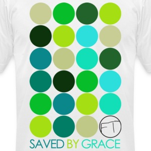 Saved By Grace T-Shirts - Men's T-Shirt by American Apparel