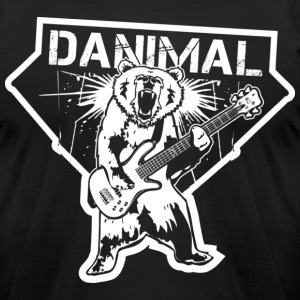 Danimal Pinson Music T-shirt T-Shirts - Men's T-Shirt by American Apparel