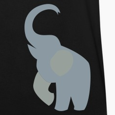 elephant with his trunk up good luck! T-Shirts