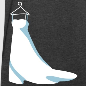 wedding dress T-Shirts - Men's V-Neck T-Shirt by Canvas
