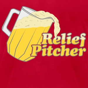 Relief Pitcher Beer Irish T-Shirts - Men's T-Shirt by American Apparel