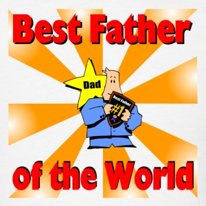 Best Father Red - Men's T-Shirt