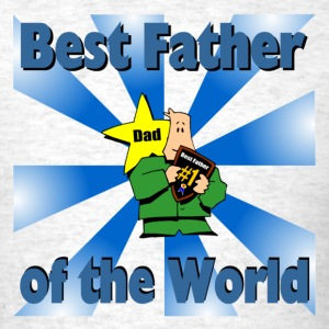 Best Father Blue - Men's T-Shirt