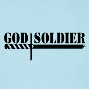 God Soldier  - Men's T-Shirt