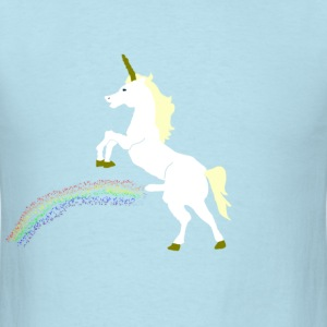 Urinating Unicorn - Men's T-Shirt
