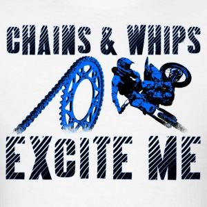 Chains and Whips Motocross T (Darks) - Men's T-Shirt