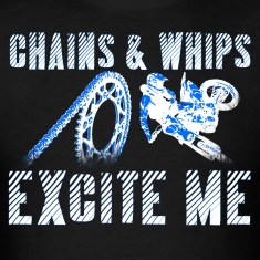 Chains and Whips Motocross T (Darks)