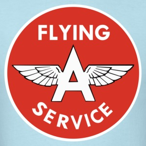 Flying A Service - Men's T-Shirt