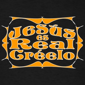 Jesús es Real - Men's T-Shirt