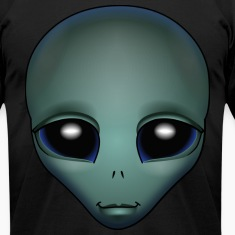 Friendly Alien T-shirt Alien Grey Shirts & GIfts