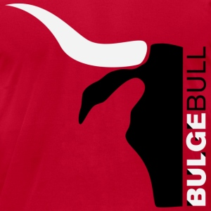 BULGEBULL SILHOUETTE - Men's T-Shirt by American Apparel