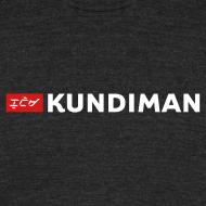 Design ~ Kundiman Logo - American Apparel Men's  Black T-Shirt