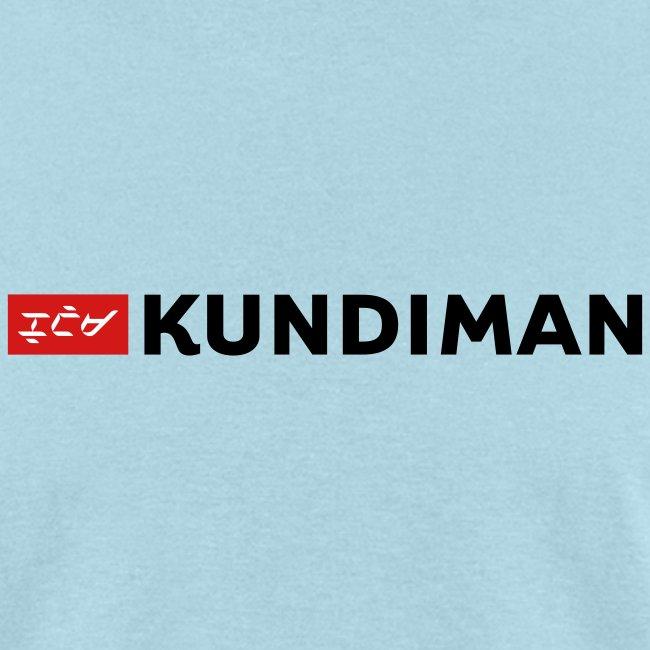 Kundiman Logo - Men's T-Shirt, Black Logo