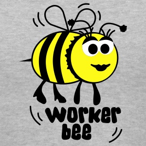 Worker bee Women's T-Shirts - Women's V-Neck T-Shirt