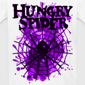 Hungry_Spider - Kids' T-Shirt