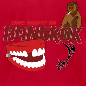 Hangover One Night Bangkok T-Shirts - Men's T-Shirt by American Apparel