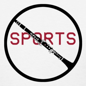 Anti Sports Clarinet - Women's T-Shirt