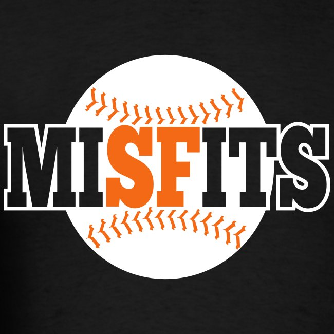 MiSFits - SF GIANTS - Black