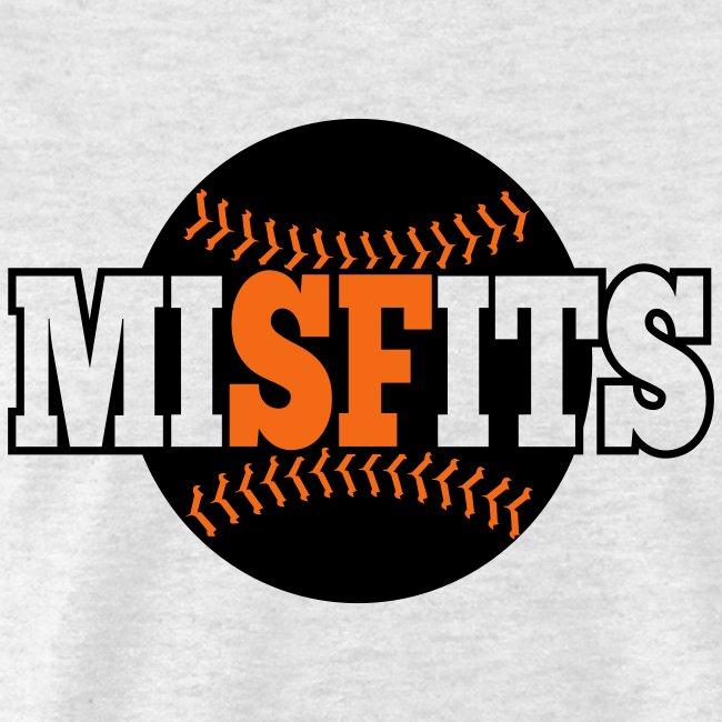 MiSFits - SF GIANTS - Ash Grey