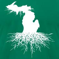 Design ~ Michigan Roots Men's American Apparel T-Shirt