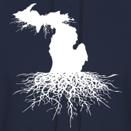 Design ~ Michigan Roots Men's Hooded Sweatshirt