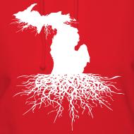 Design ~ Michigan Roots Women's Hooded Sweatshirt