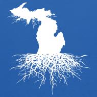 Design ~ Michigan Roots Kid's Hooded Sweatshirt