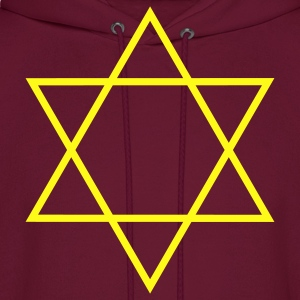 Star Of David Hoodies - Men's Hoodie