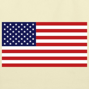 American Flag Bags  - Eco-Friendly Cotton Tote