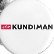 Design ~ Kundiman Logo - Large Button, Black Logo