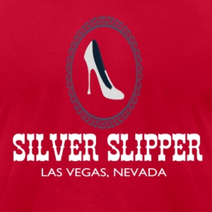 Silver Slipper - Men's T-Shirt by American Apparel