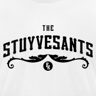 "Design ~ Mens ""The Stuyvesants"" Logo Tee White"